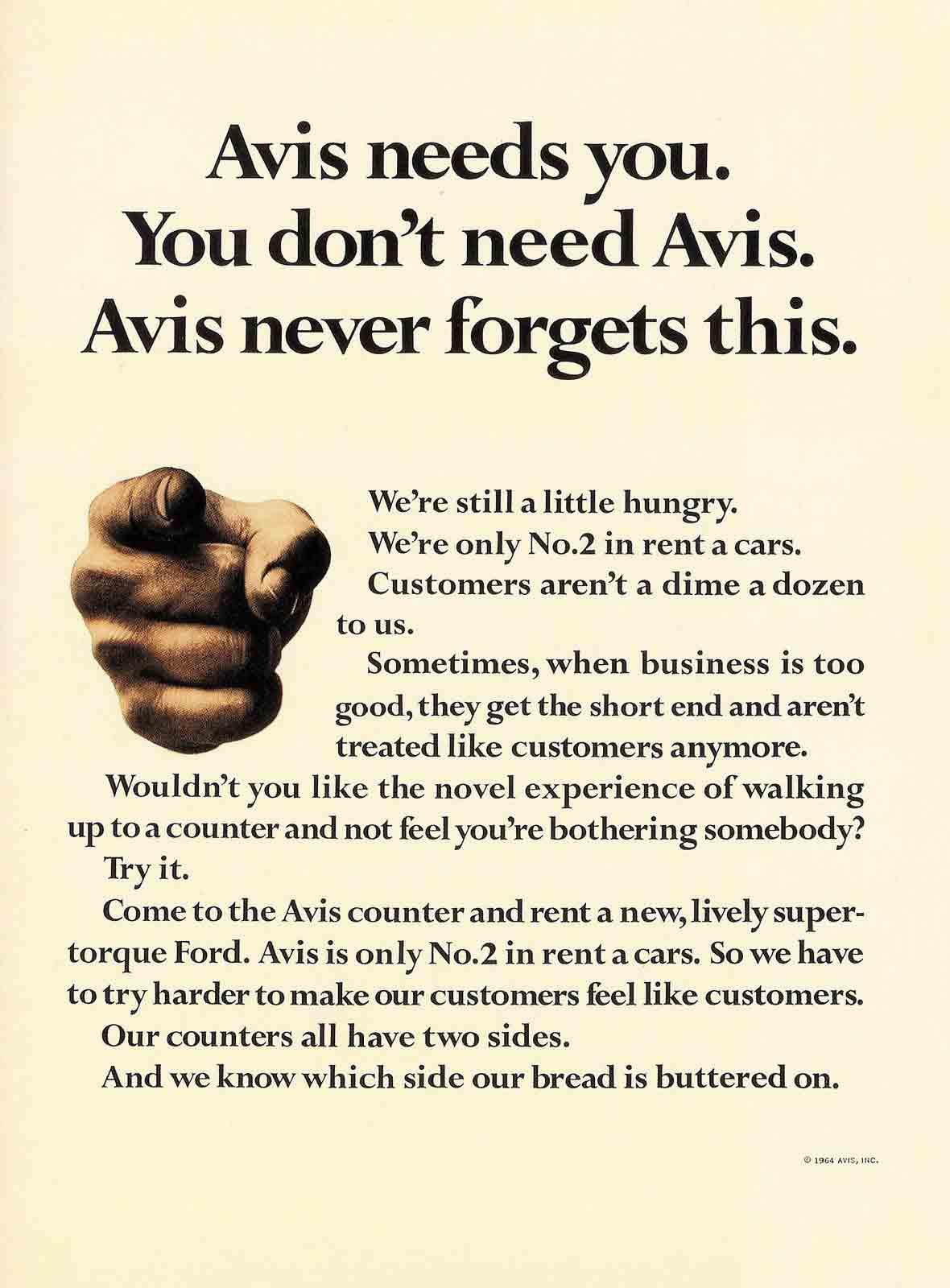 Avis Needs You