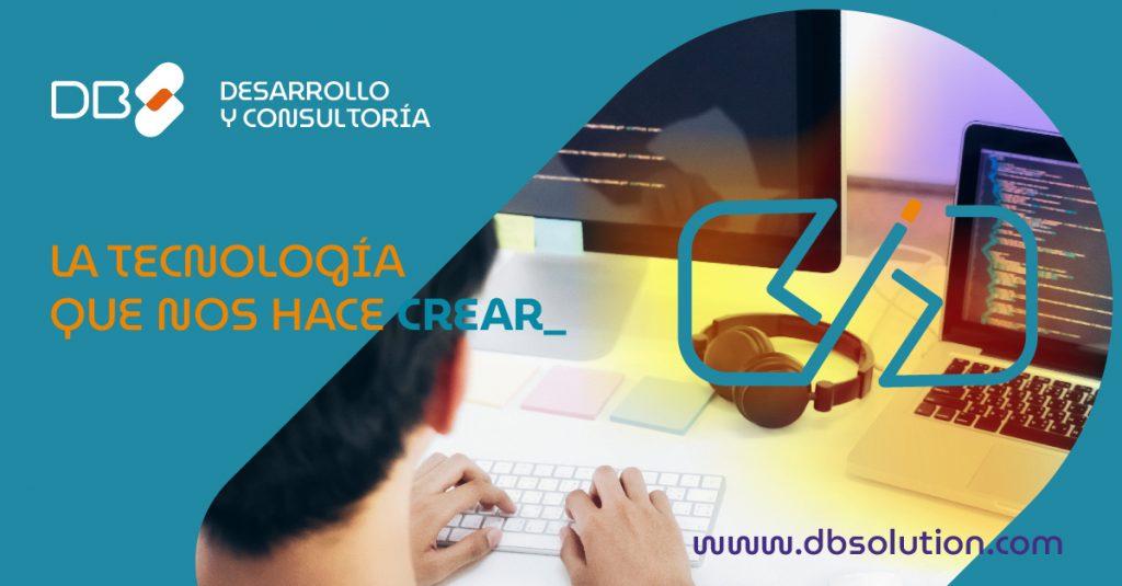 campaña lanzamiento DB Solution La tecnología que nos hace crear
