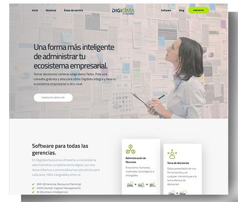 visual website digidata