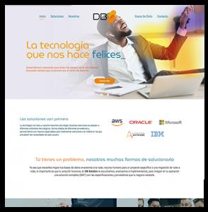 Imagen, Website y Lanzamiento DB Solution