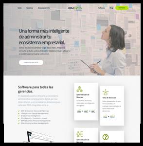 Website y Marketing Digital Para Digidata de Colombia